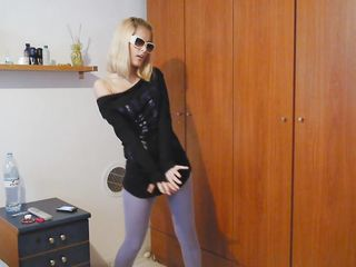 Порно двойное блондинки