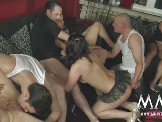 Немецкое анальное групповое порно