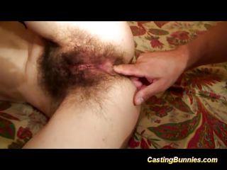 Волосатое очко порно