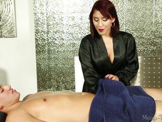 Порно двойное проникновение массаж