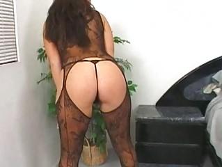 Домохозяйка чулки порно