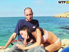 Порно нудисты секс на пляже