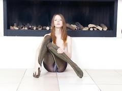 Очень худые девушки порно видео