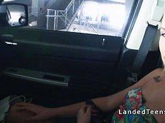 Порно со спящими в машине