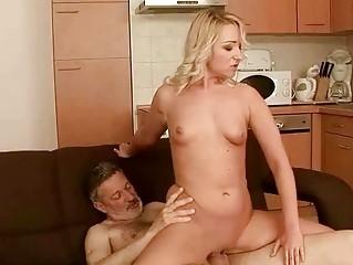 Жесткий секс старушек