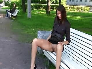 Порно копилка на улице